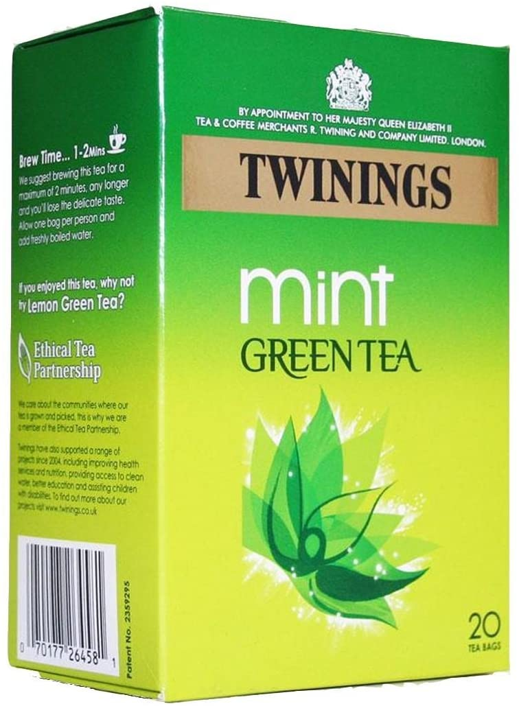 Twinnings Mint Green Tea