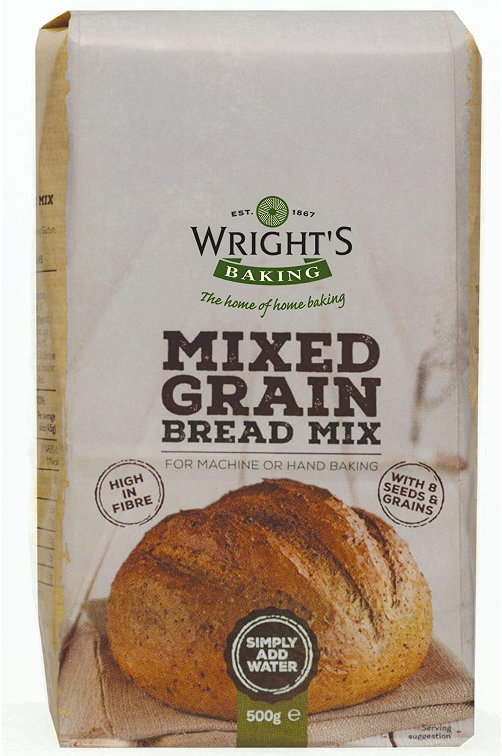 Wrights Baking Mixed Grain Bread Mix
