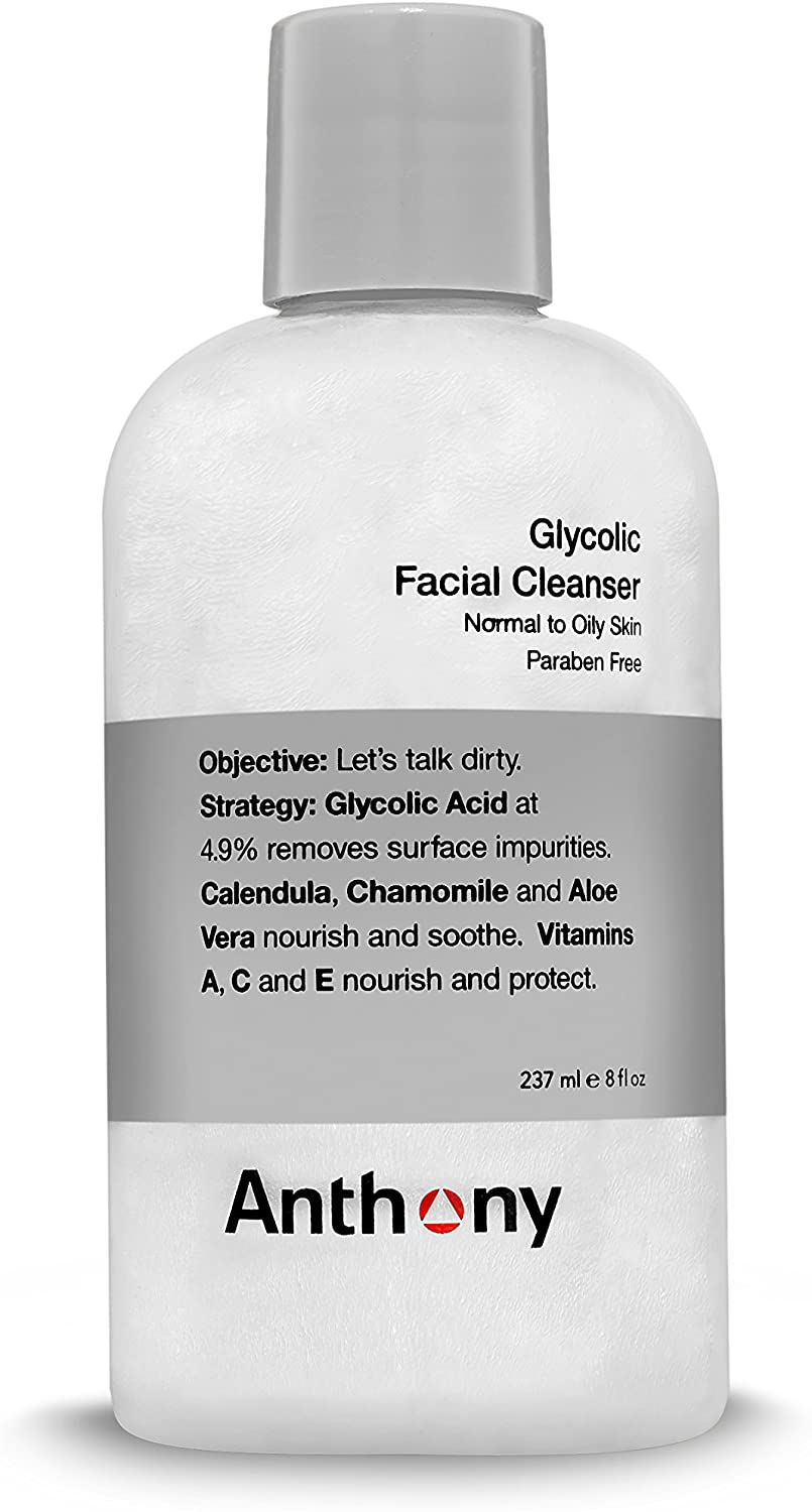 Anthony Face Wash with Glycolic Acid