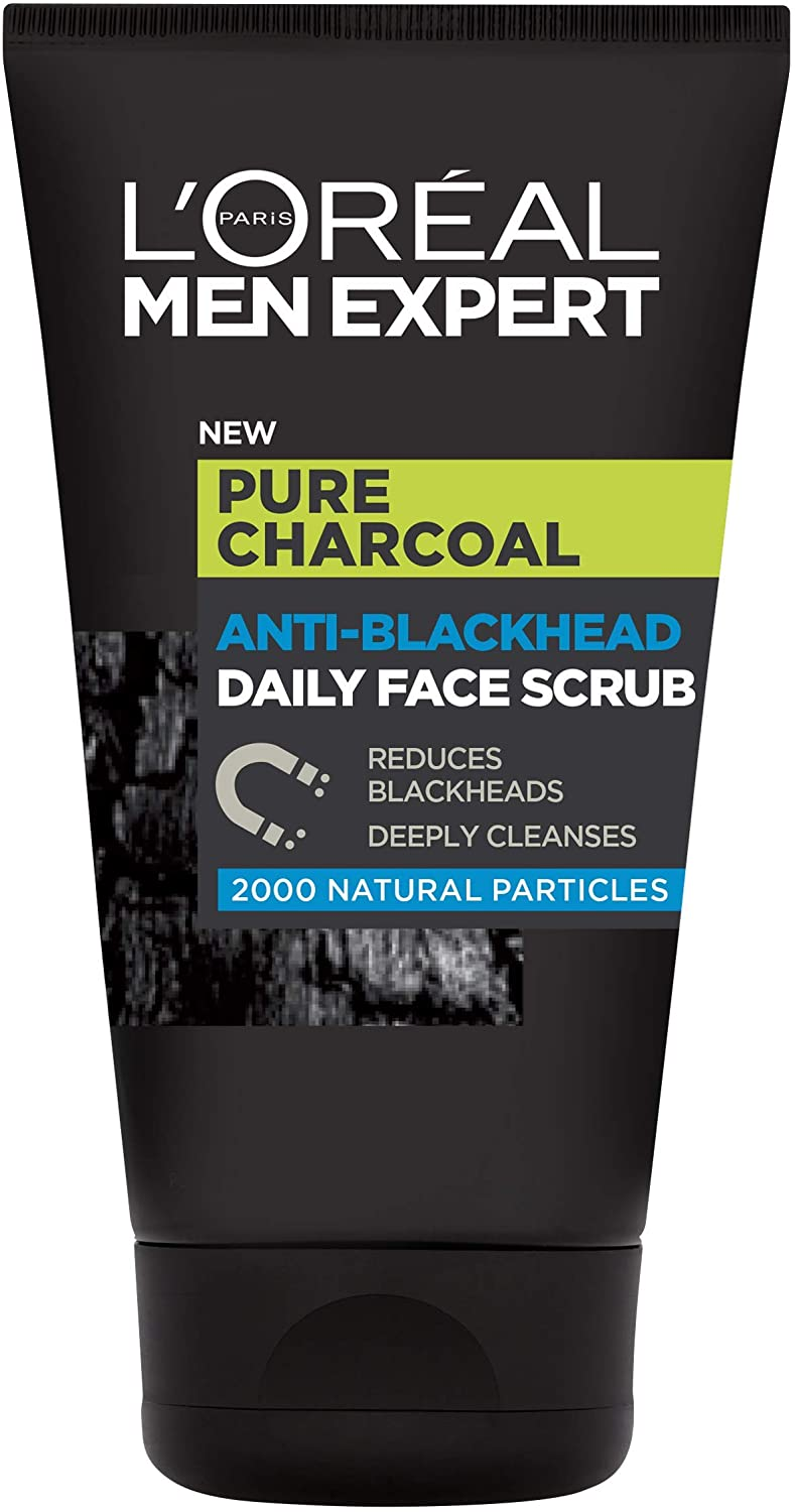 L'Oreal Men, Expert Pure Charcoal, Face Scrub