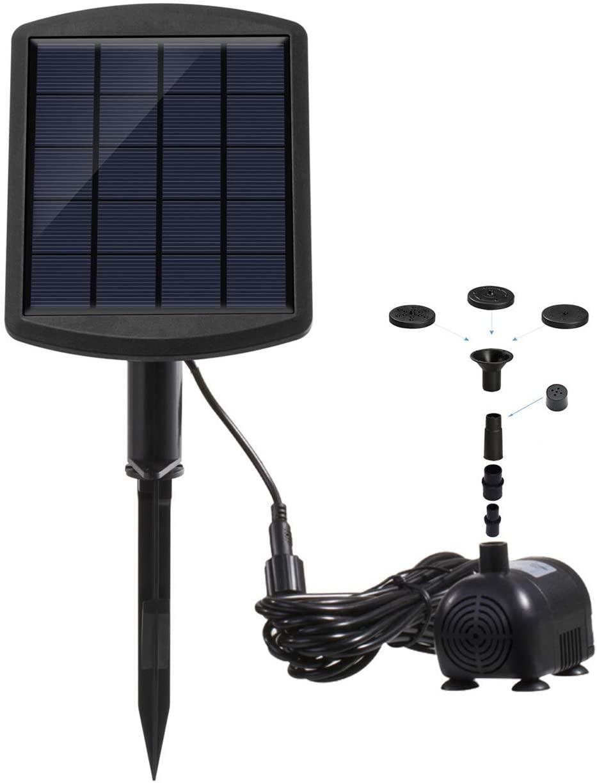 Lewisia 1.8W Solar Pond Pump