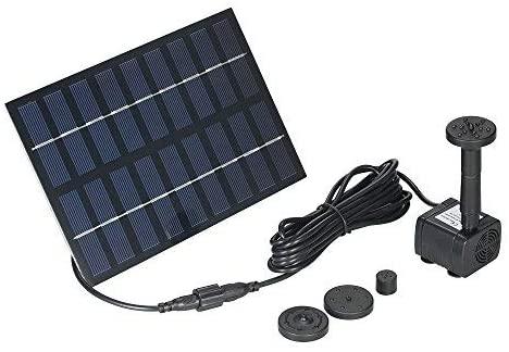 Decdeal 9V 1.8W Solar Pond Pump