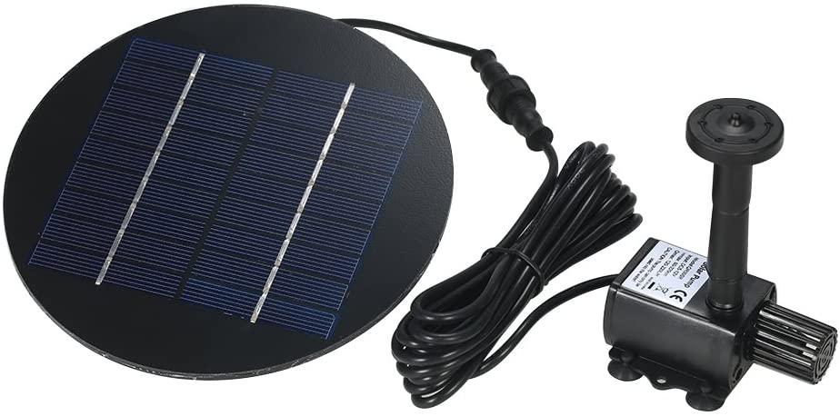 Decdeal 9V 1.5W Solar Pond Pump (best water circulation)