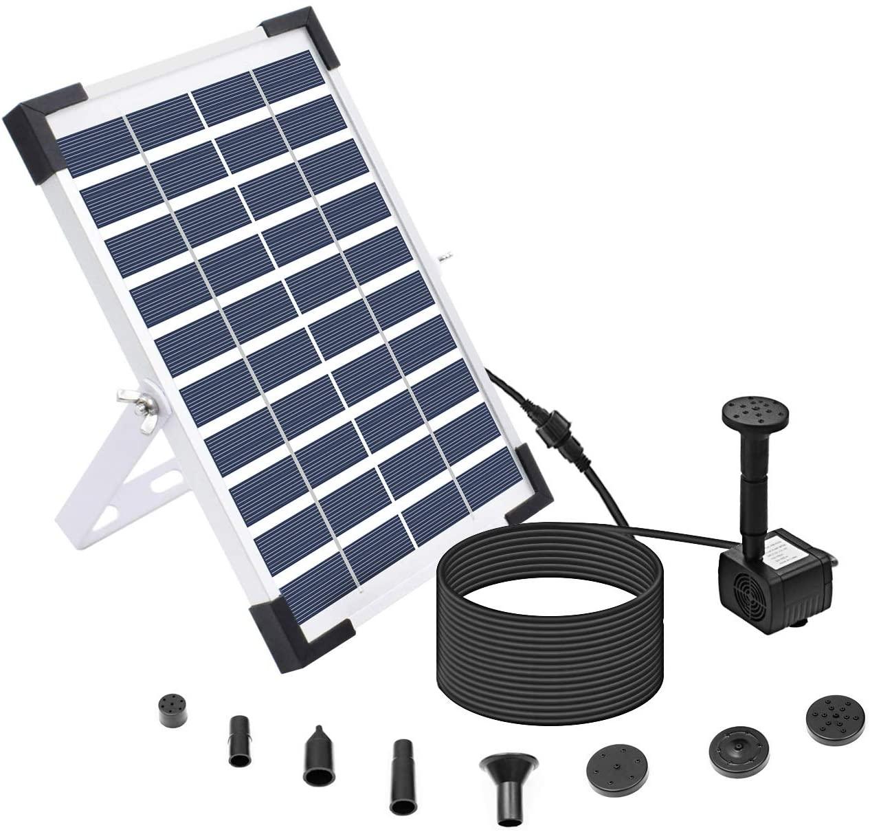 Lewisia 5W Solar Pond Pump