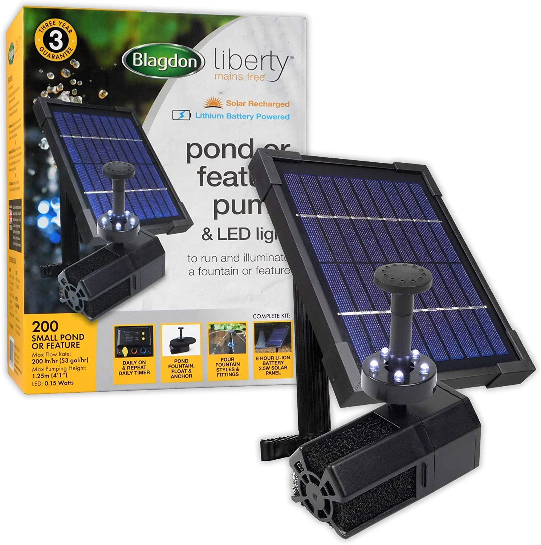 Blagdon Liberty 200 Solar Powered Pond Pump