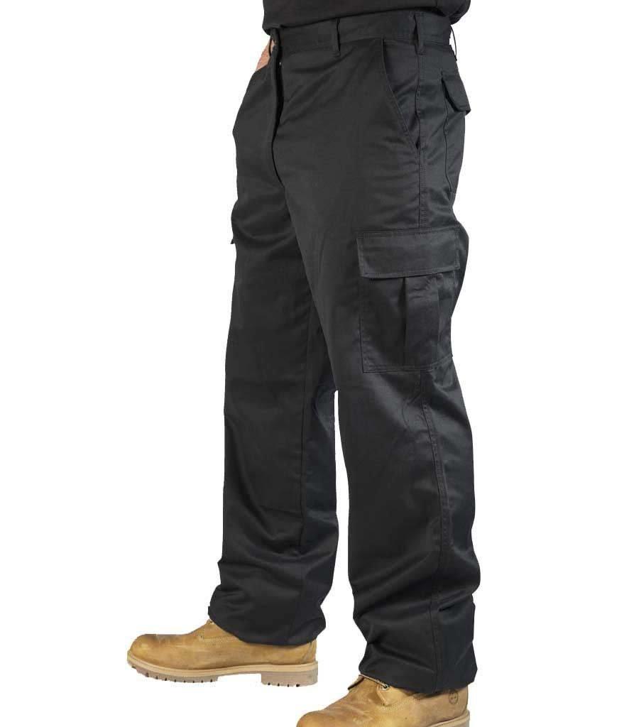 BKS Men's Combat Cargo Work Trousers