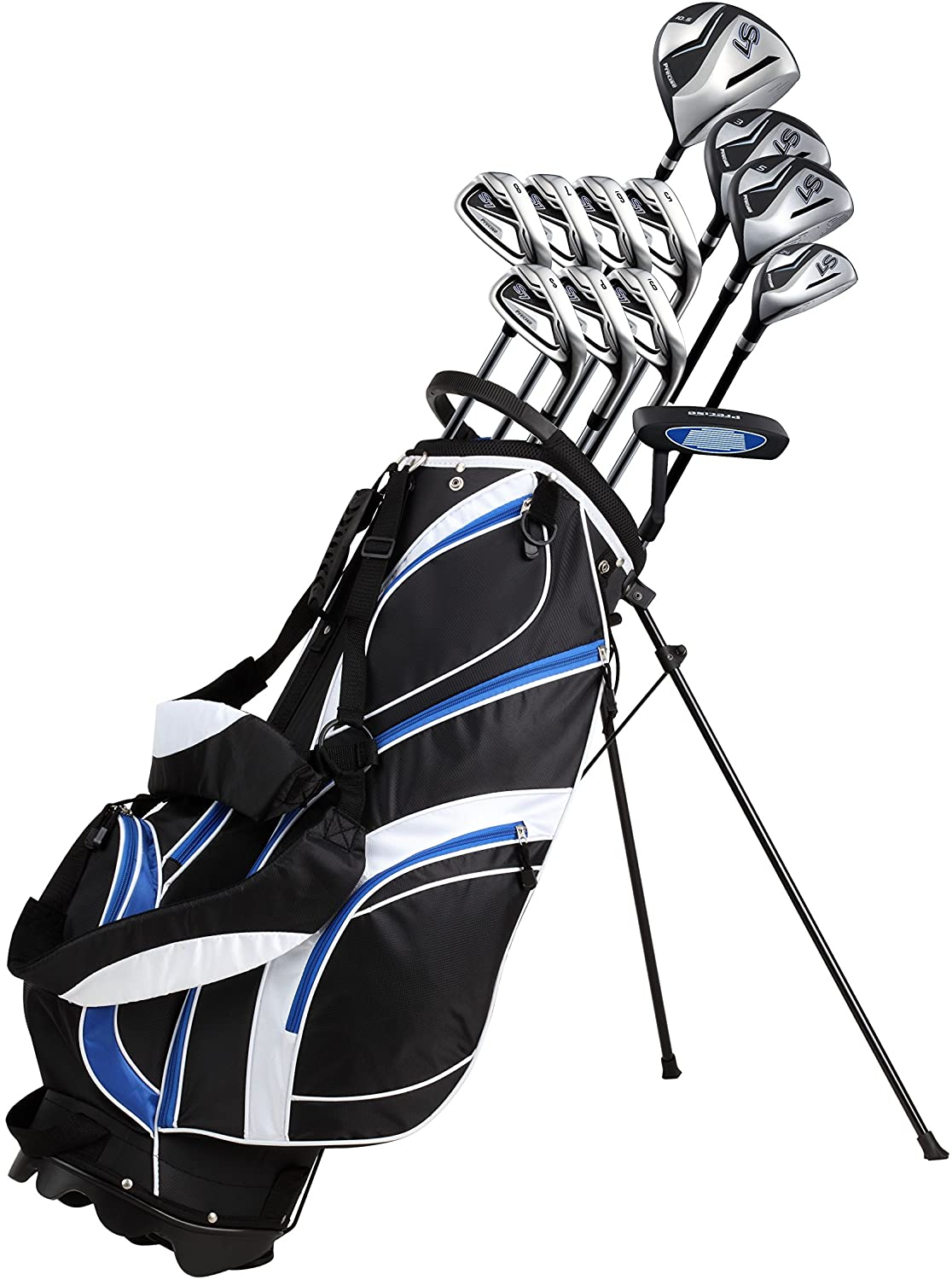 18-Piece Men's Complete Golf Club Set Precise Golf