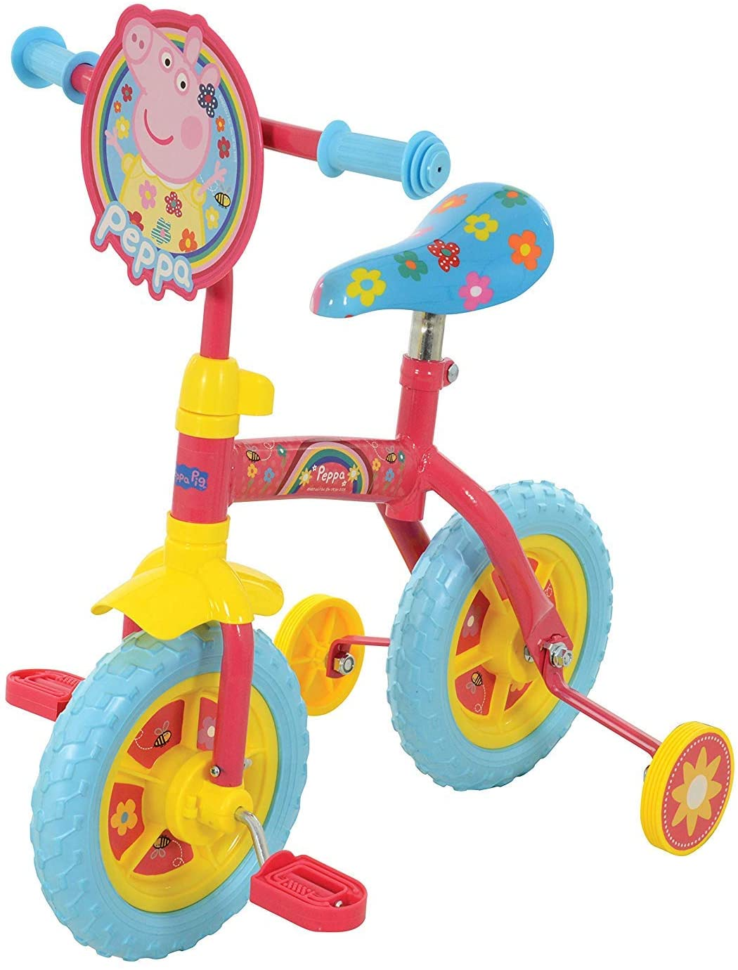 2-in-1 2-Inch Bike Peppa Pig