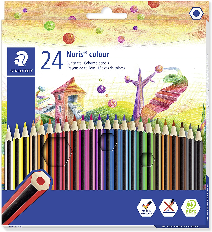 A Set of Coloured Pencils