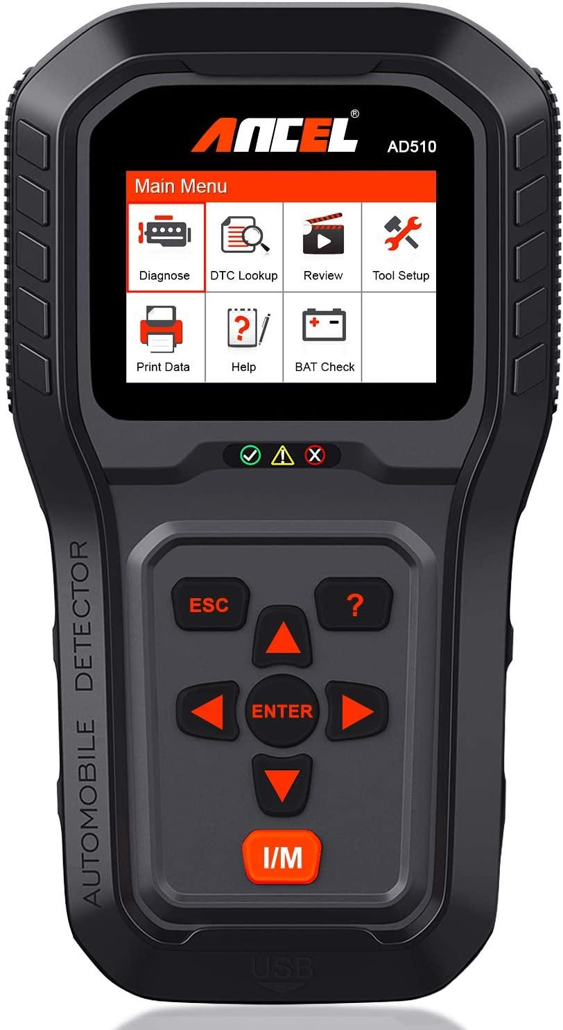 ANCEL AD510 Auto Car Diagnostic OBD2 Scanner