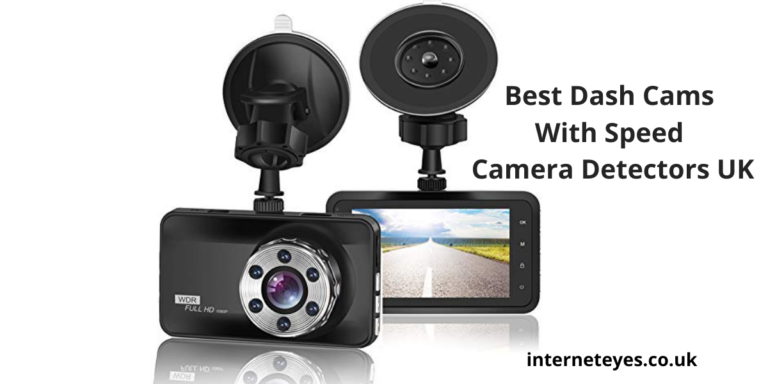Dash Cams With Speed Camera Detectors UK