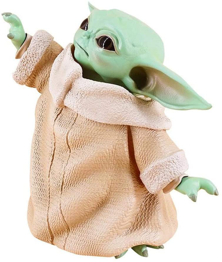 Anime Figures Yoda Baby Star Wars Collectible PVC Statue the Child Animatronic