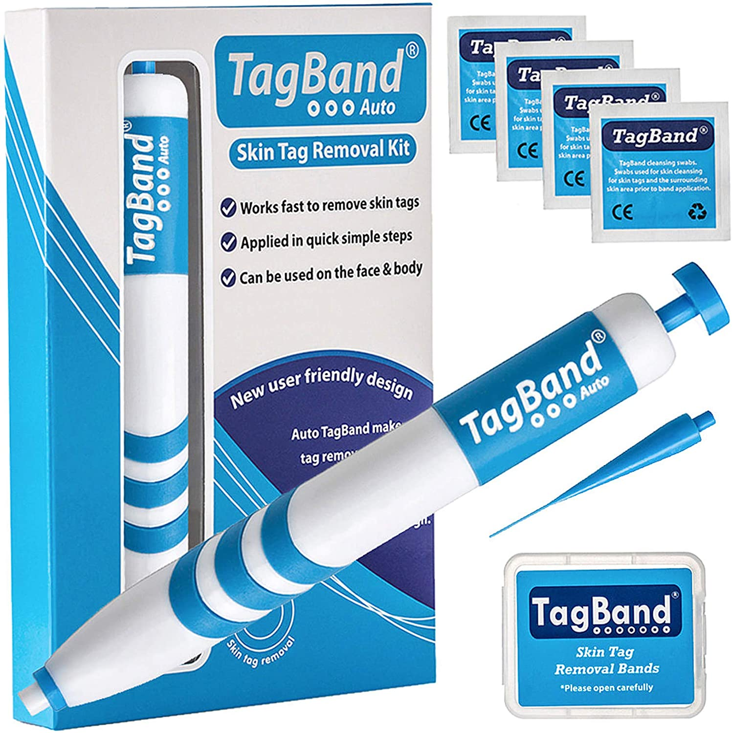 Auto TagBand Skin Tag remover Device