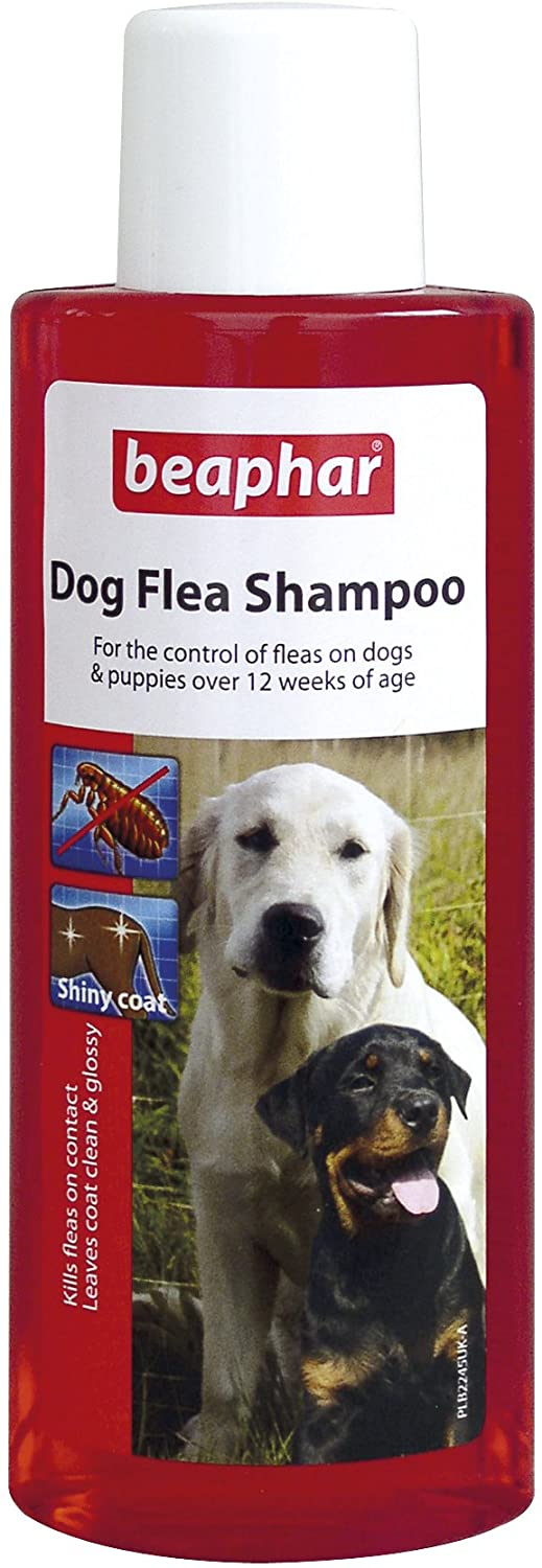 Beapher Dog Flea Shampoo Red Treatment