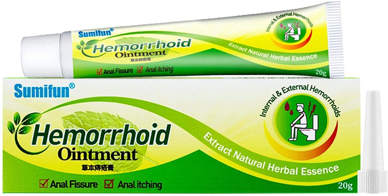 Betteros Natural Herbal Hemorrhoids Cream