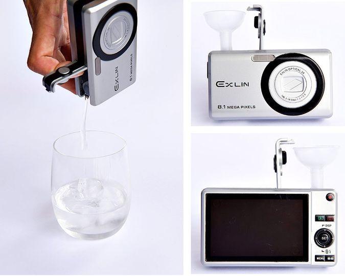 Bev-Cam Camera FlaskBinocktails