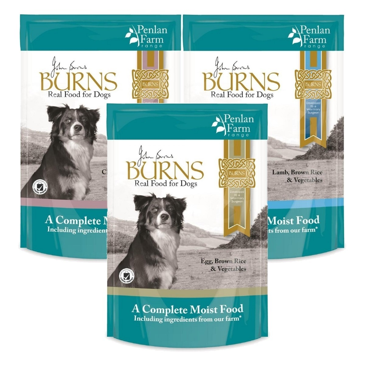 Burns Penlan Brown Complete Pouches