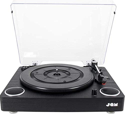 Classic Black JAM Record Player