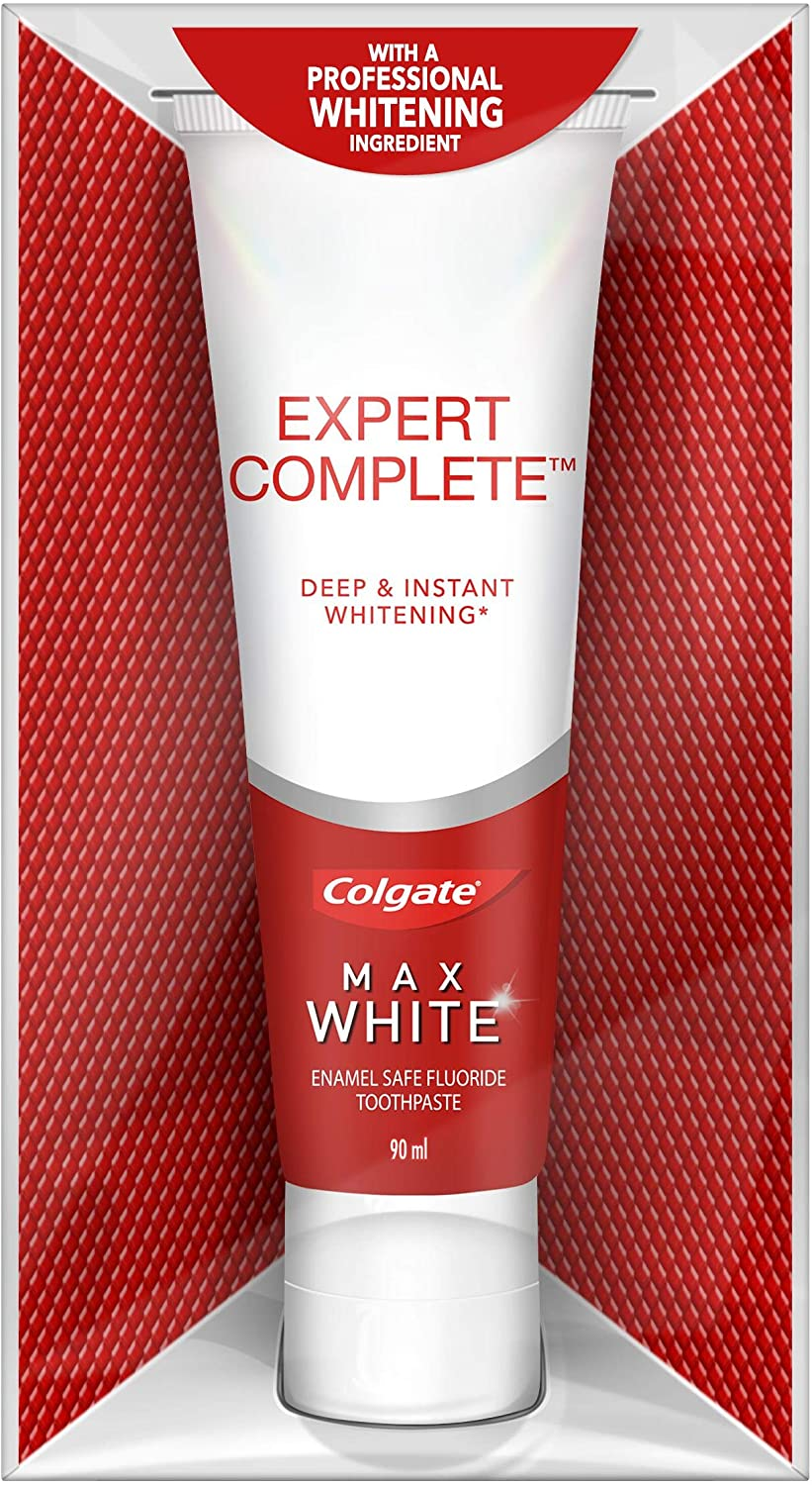 Colgate Max White Expert Complete Whitening Toothpaste