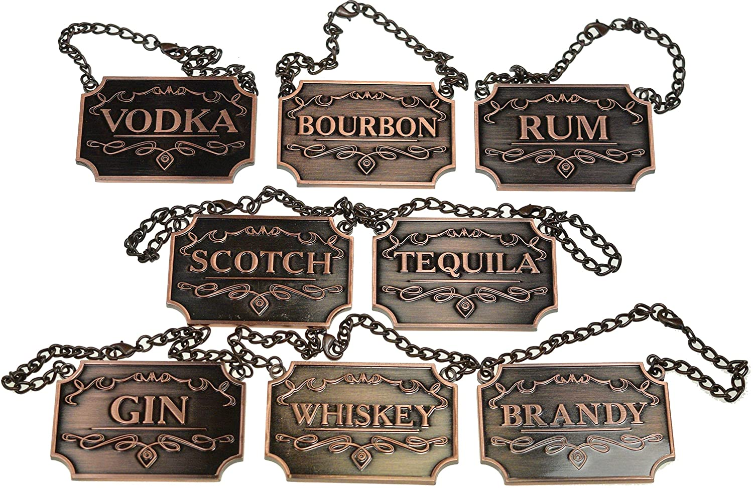 Copper Liquor Decanter Tags Prestige Decanters