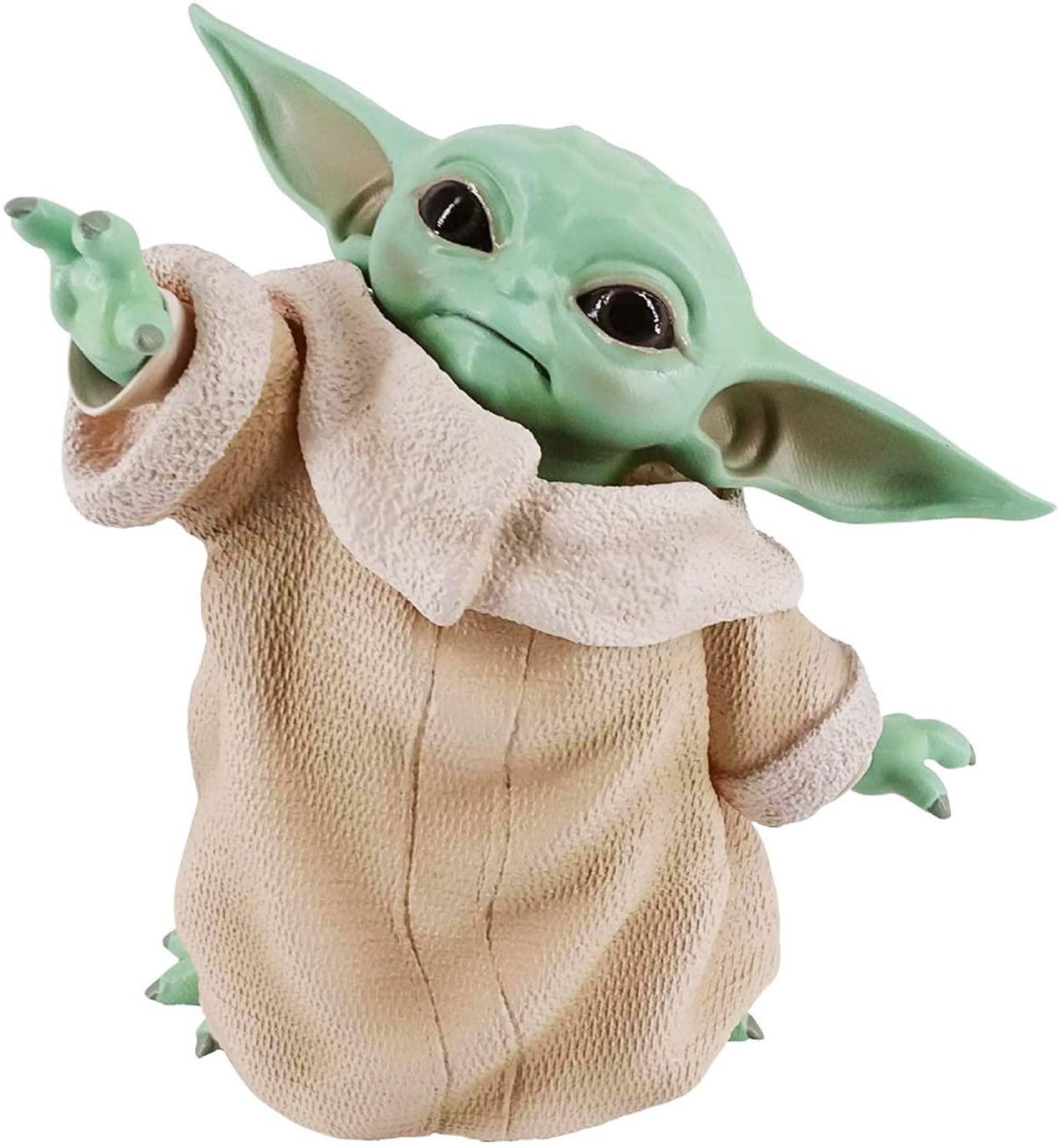 DUYUJIE Pop Star Wars The Child Animatronic Edition Mandalorian Baby Yoda Action Figure Toys