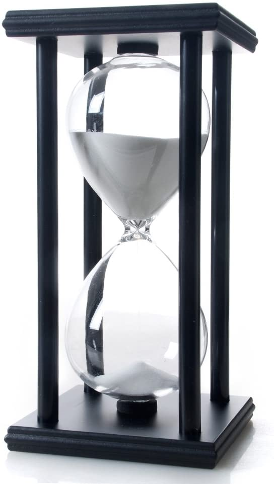 Decorative Hour Glass Sand Timer Bella wore