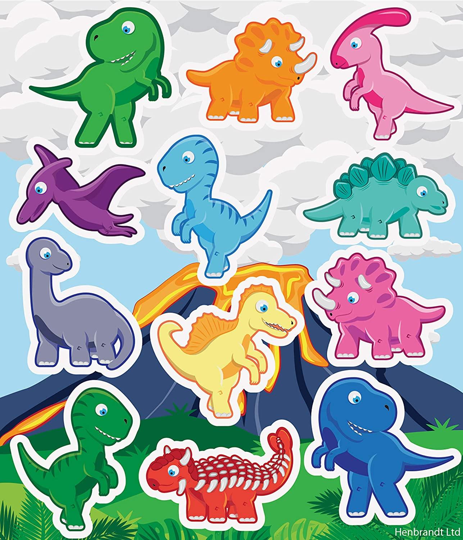Dinosaur sticker Set Henbrandt