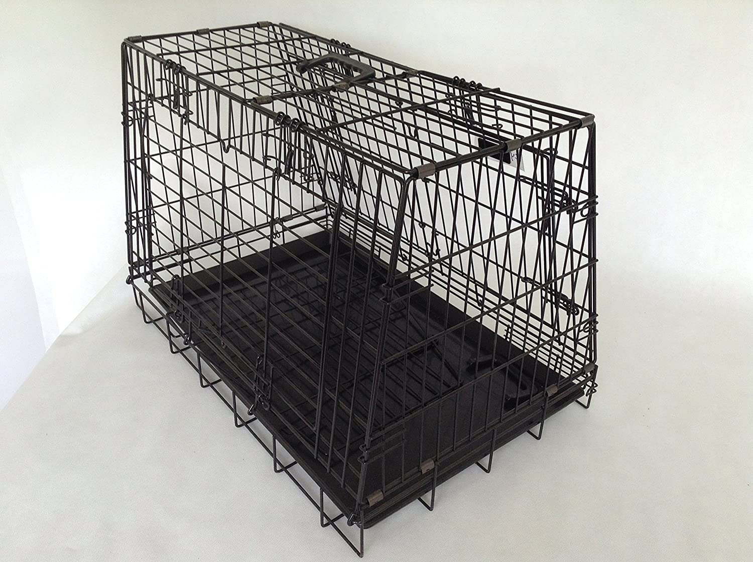 Double Sloping Shaped Dog Crate