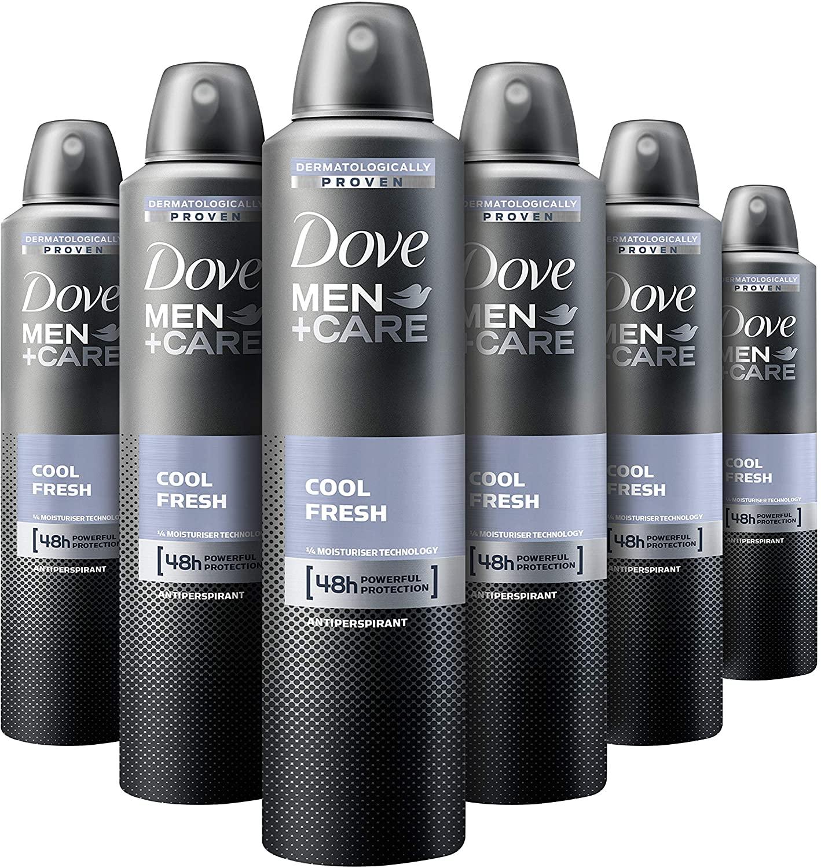 Dove Cool Fresh Antiperspirant Aerosol for Men 250 ml
