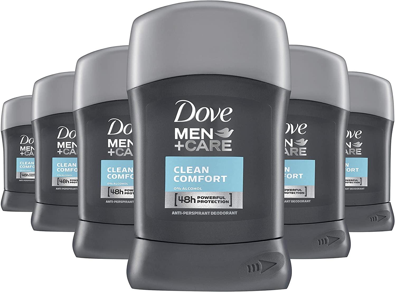 Dove Men Care Clean Comfort Antiperspirant Stick