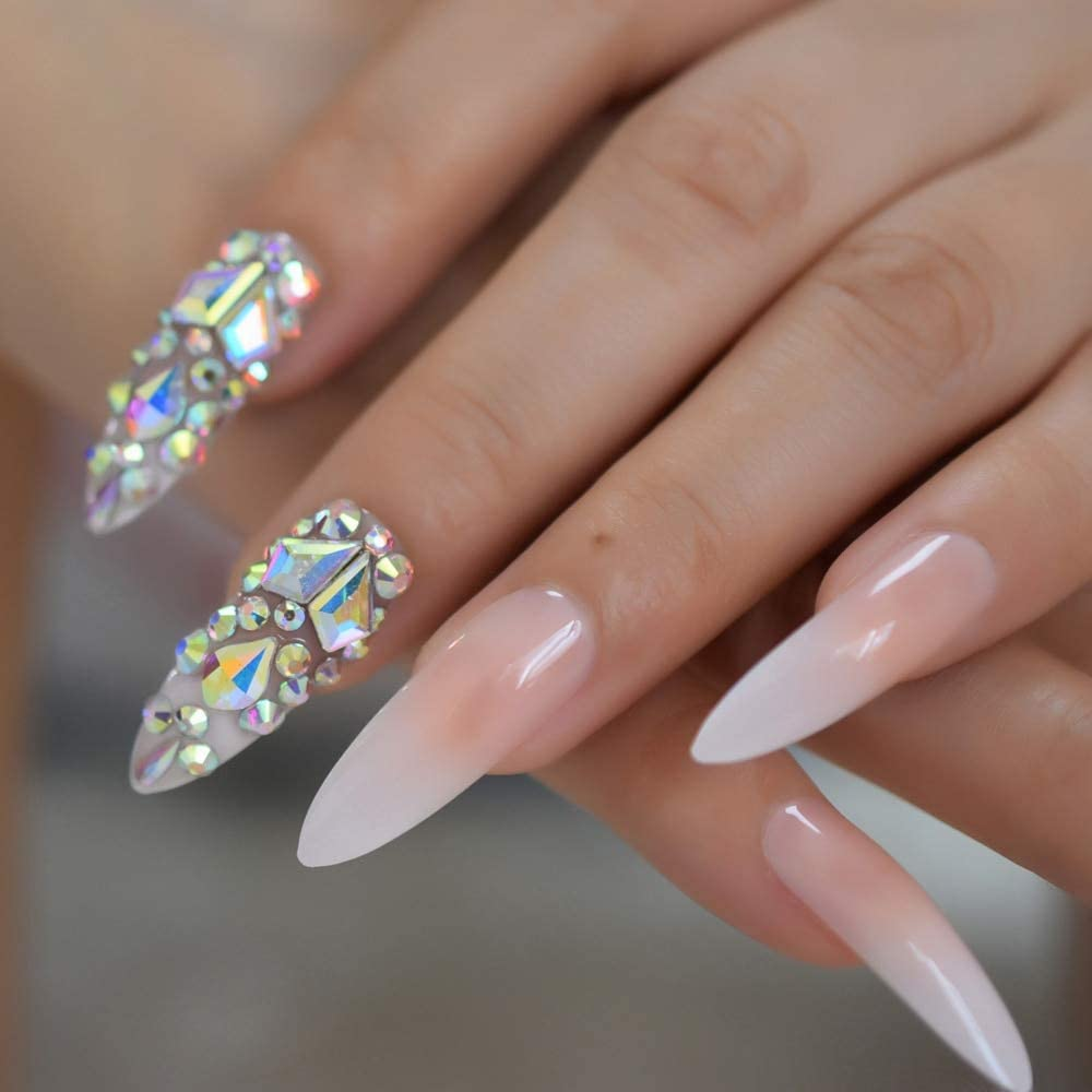 EchiQ Luxury 3D Stick On Nails