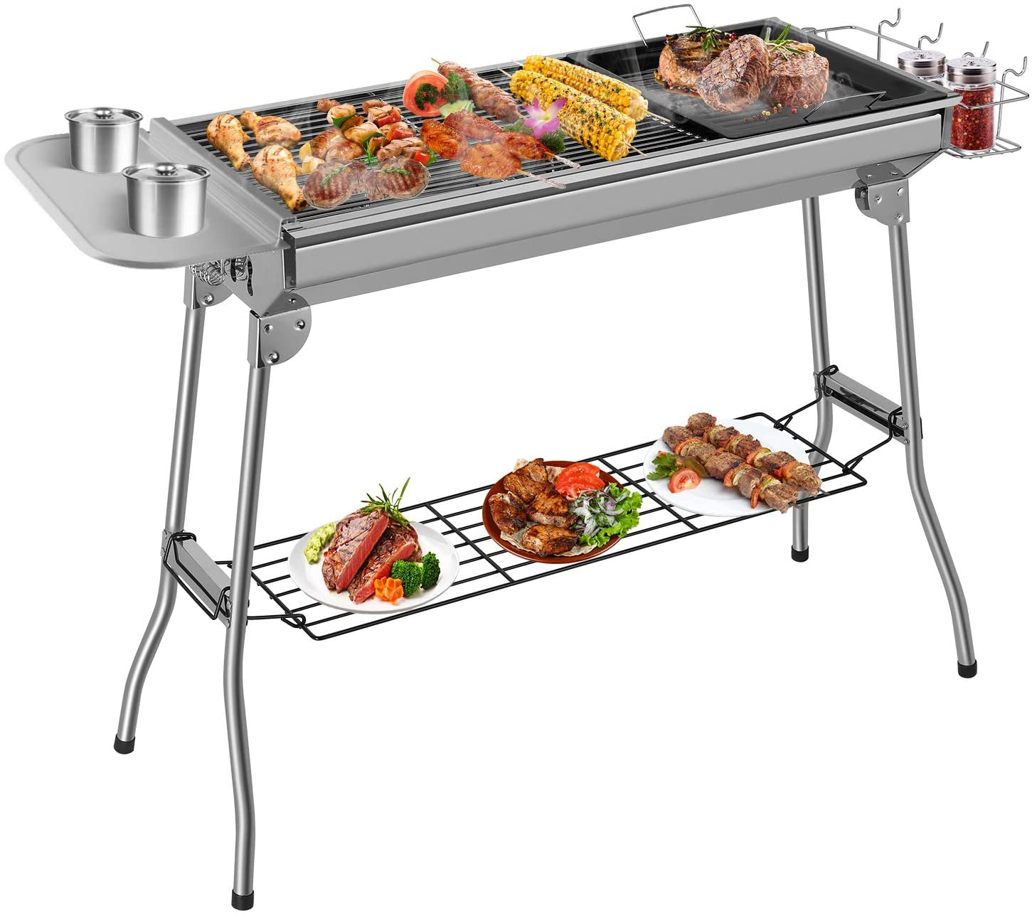 Femor Stainless Steel BBQ Grill
