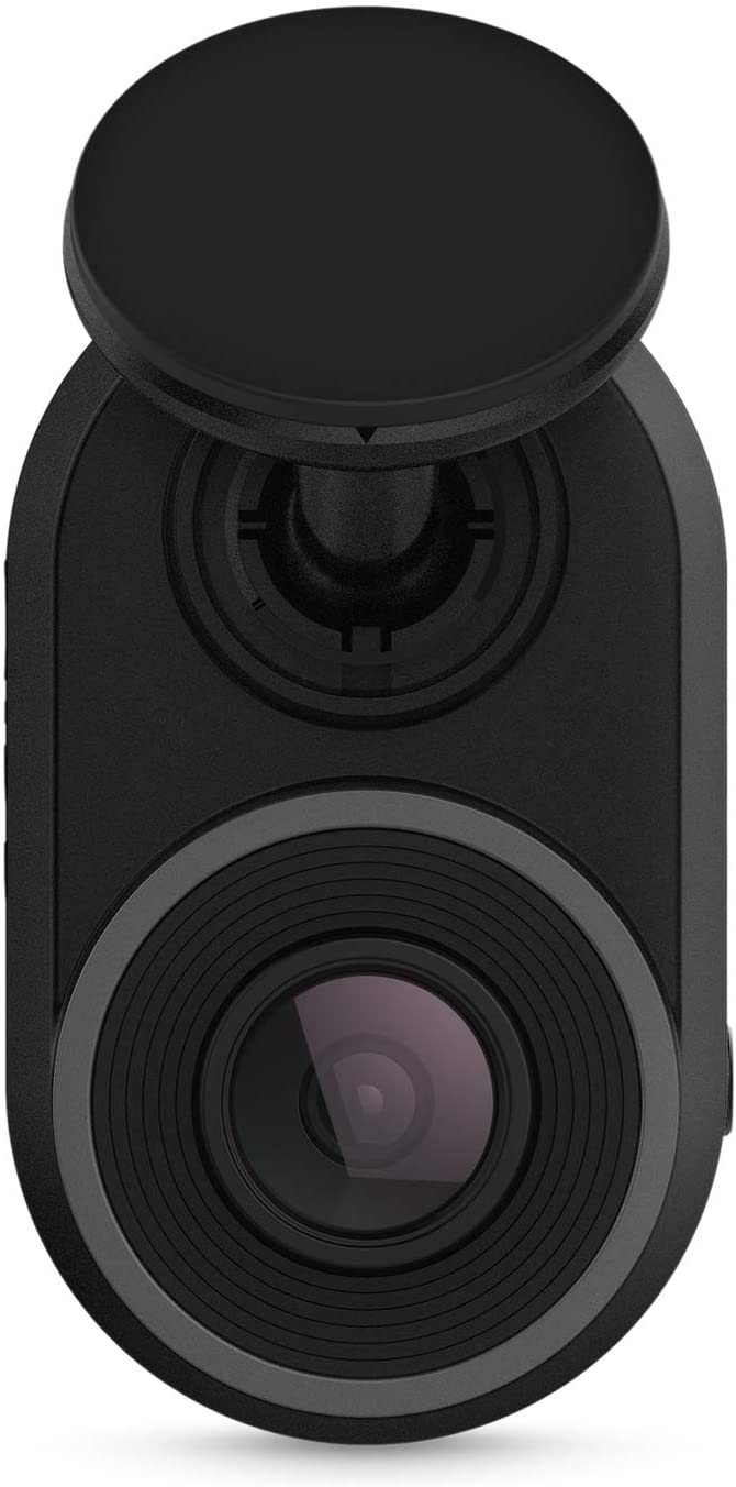 Garmin Dash Cam Mini Key-Sized Dash Camera with 140-degree Wide-angle Lens and Recording in 1080p HD Video
