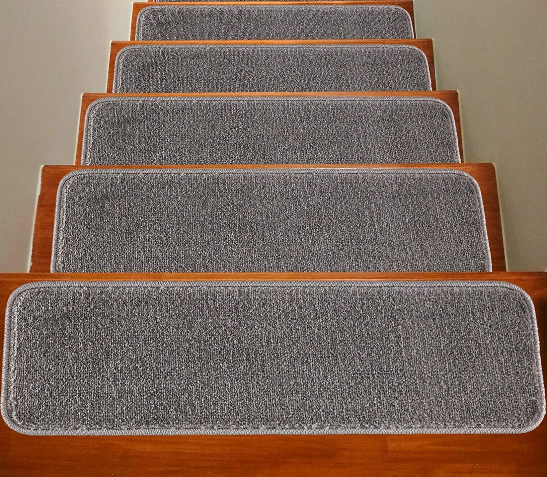 Generic soft bare carpet stair treads
