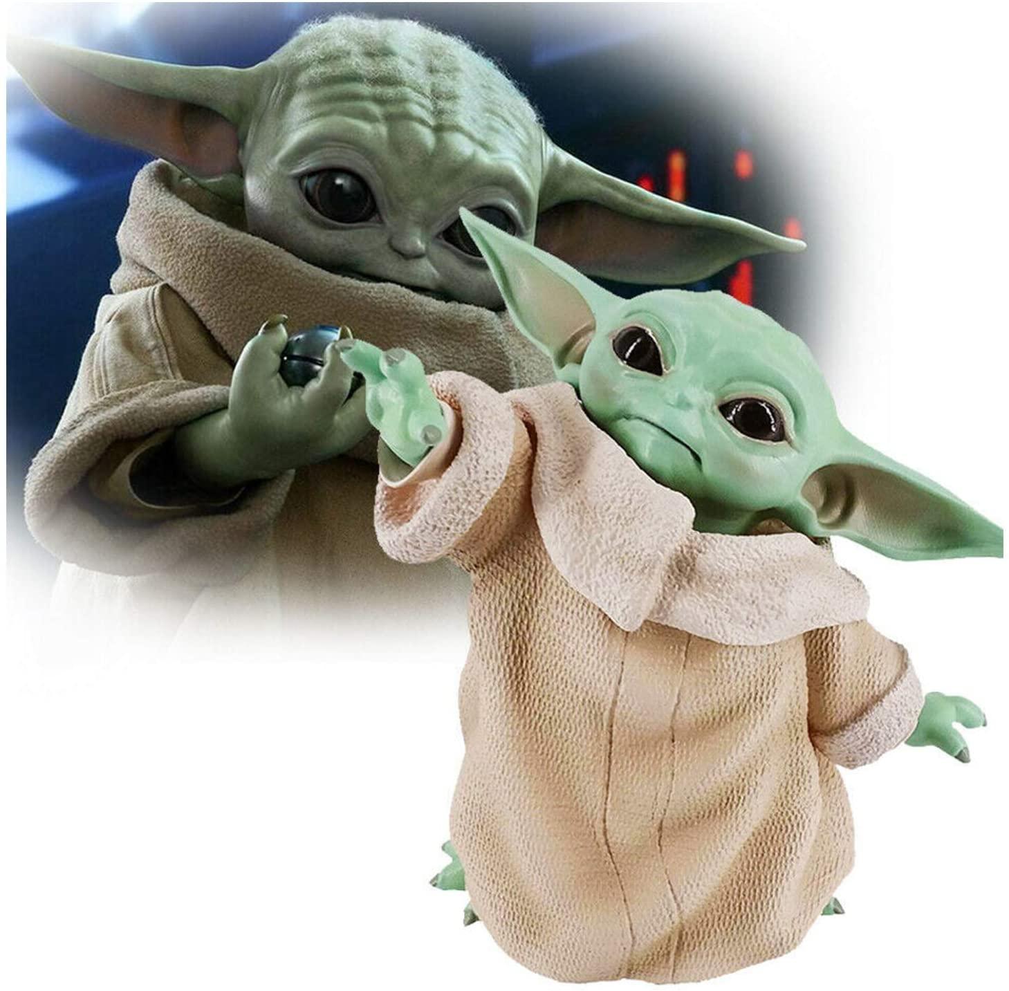 HAGENGOO Star Wars The Child Animatronic Edition Mandalorian Baby Yoda