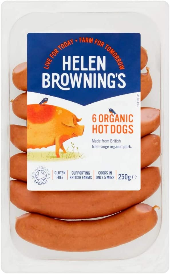Helen Browning's Organic Hot Dogs