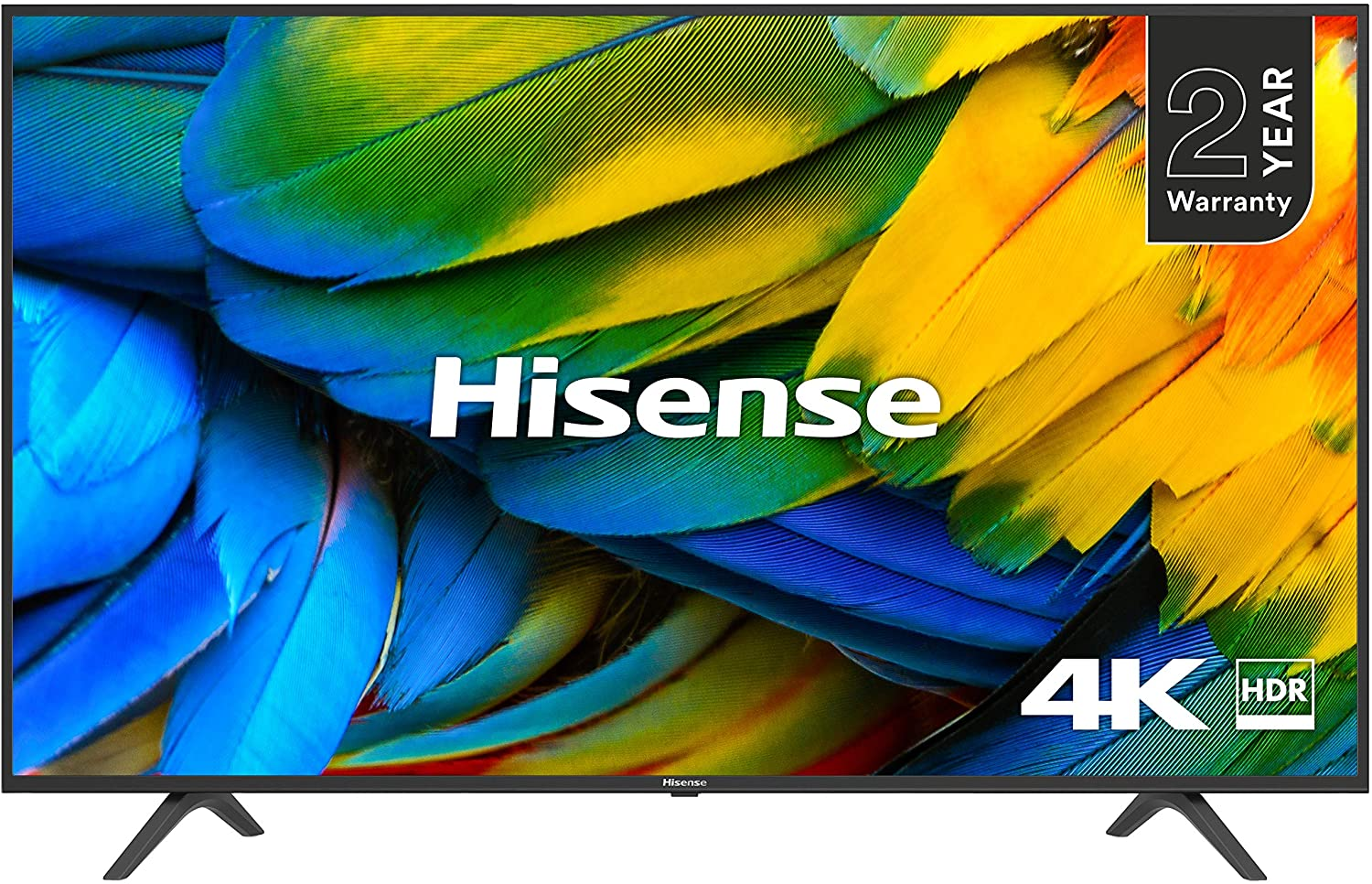 Hisense H43B7100UK 43-Inch 4K UHD Smart TV with Freeview Play