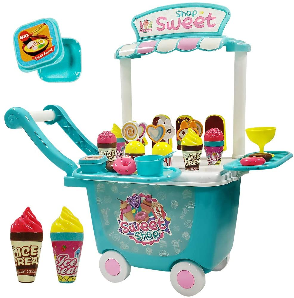 Ice Cream Cart Play Sets HANMUN