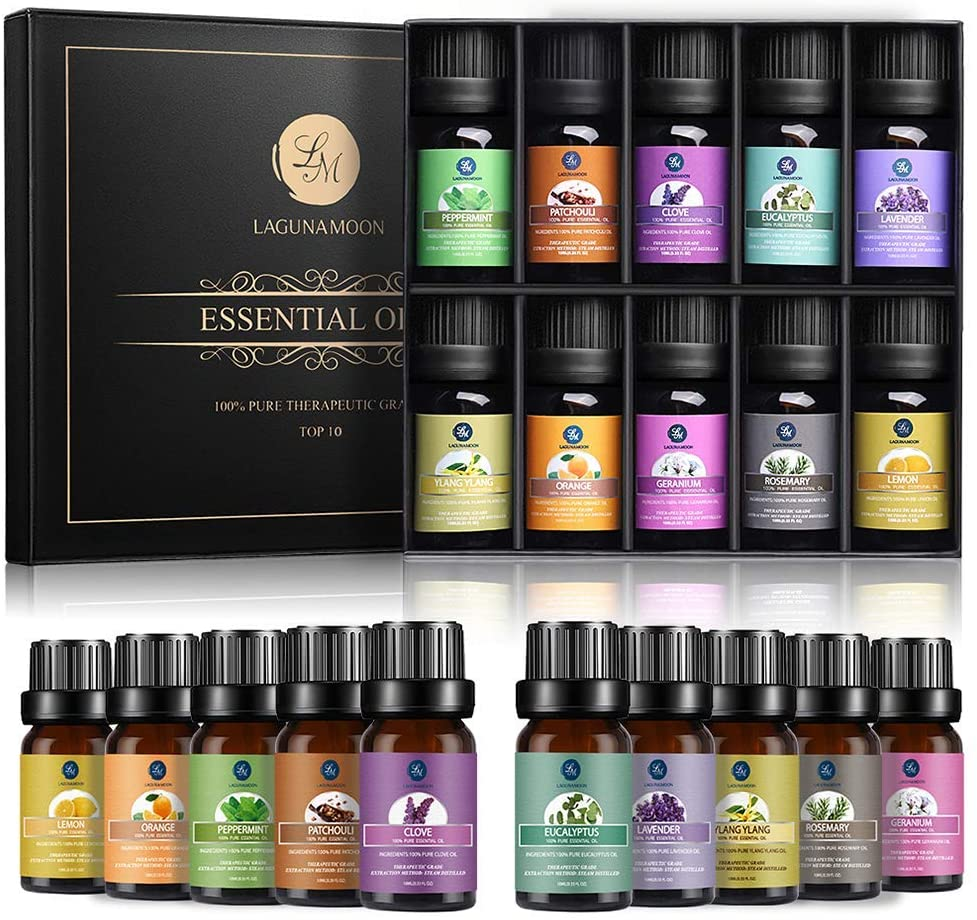 Lagunamoon Aromatherapy Essential Oils