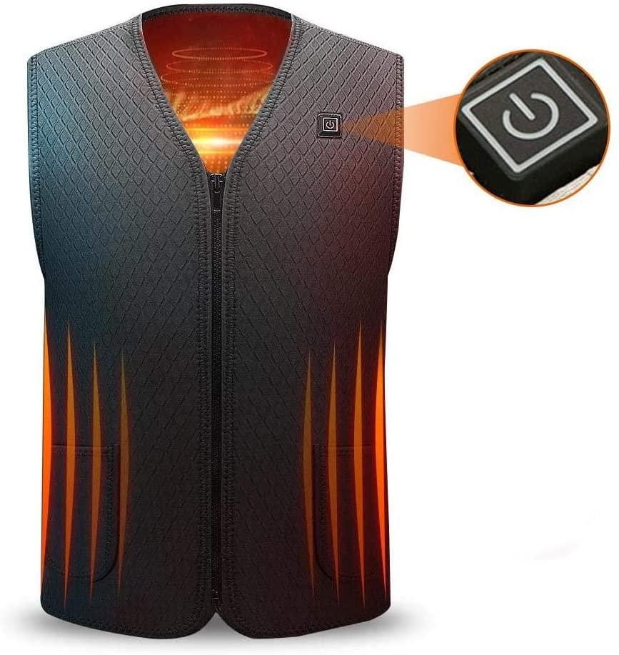 LayOPO Electric Waterproof Adjustable Vest
