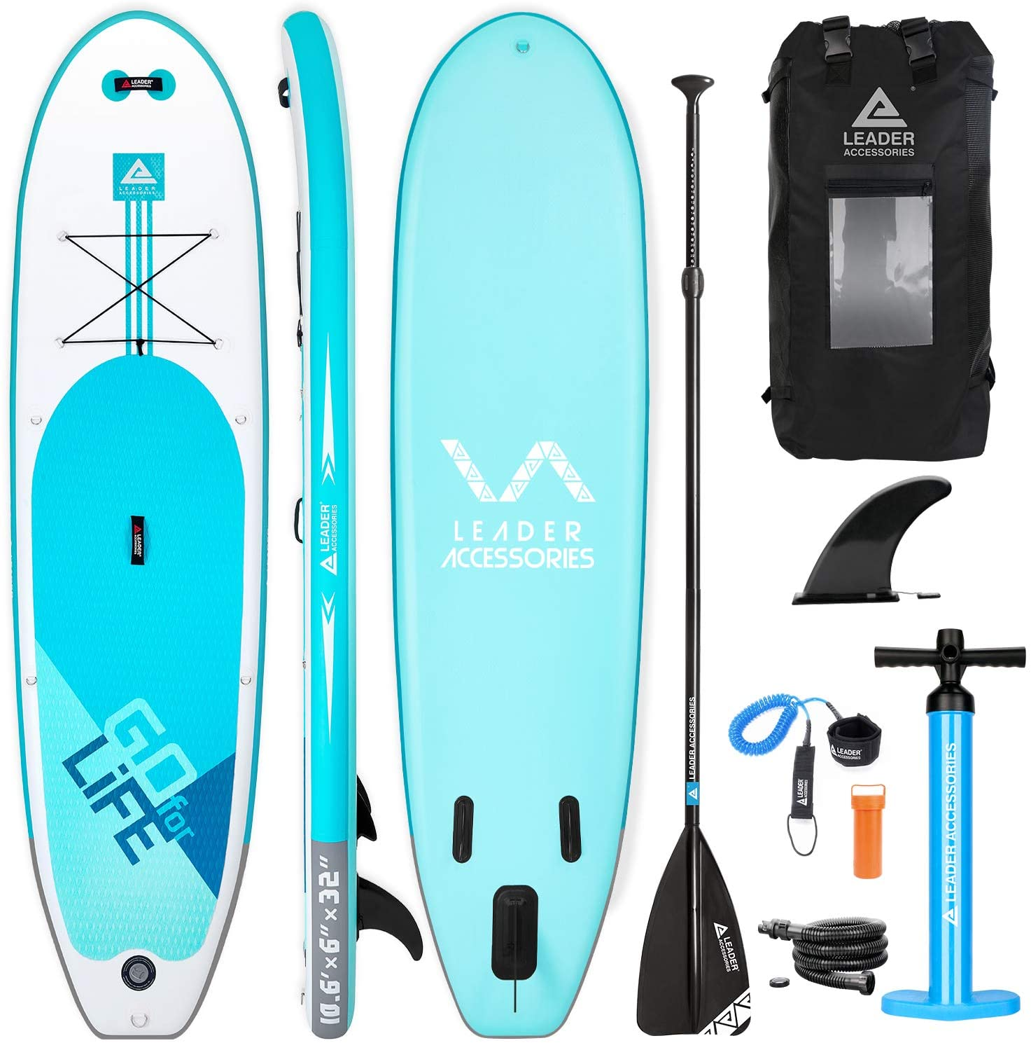 Leader accessories all-round inflatable SUP Board