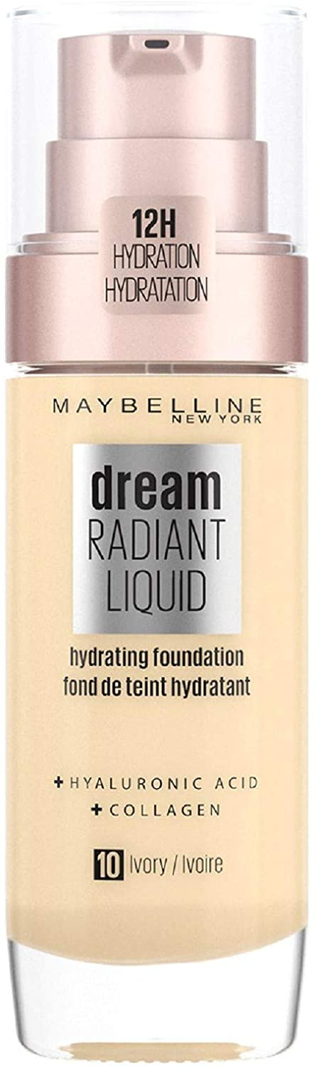Maybelline Foundation Dream Radiant Liquid Hydrating Foundation