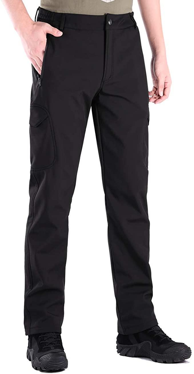 Men softshell Waterproof Hiking Trousers