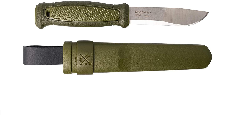 Mora Unisex Outdoor Kansbol Knife Kit available in Green