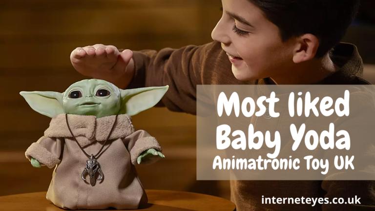 Most liked Baby Yoda Animatronic Toy UK