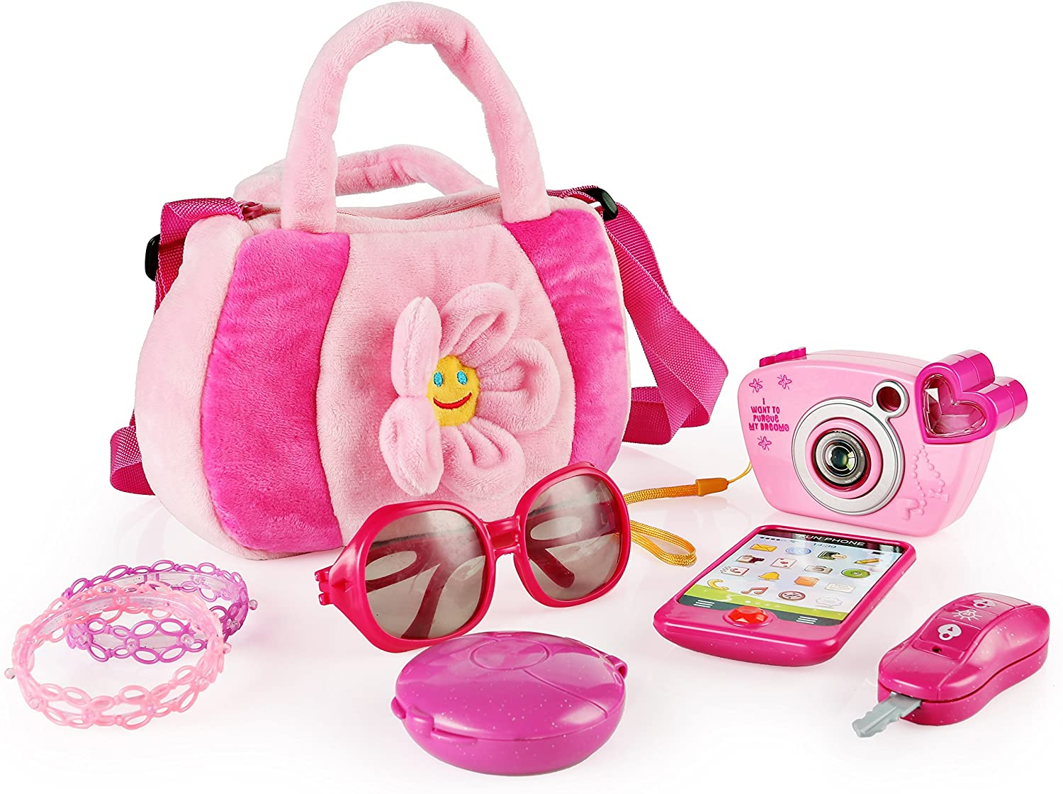 My First-Hand Bag Pretend Princess Play Set SainSmart Jr