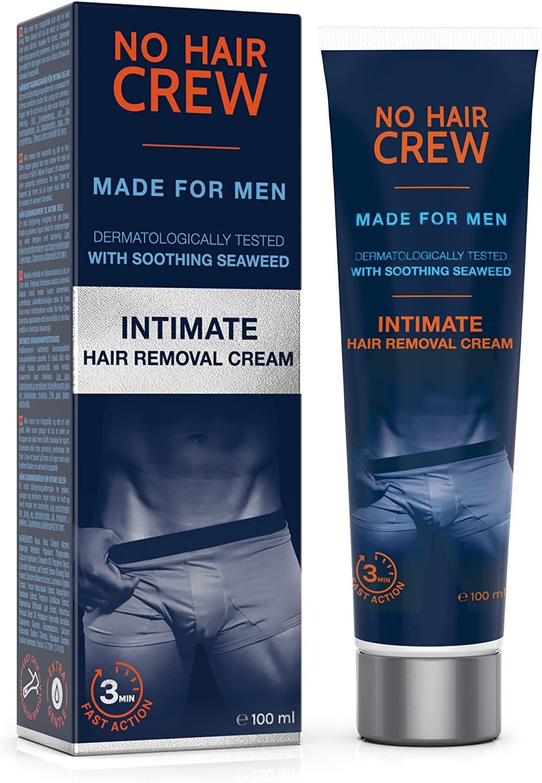 No Hair Crew Premium Intimate Hair Removal Cream