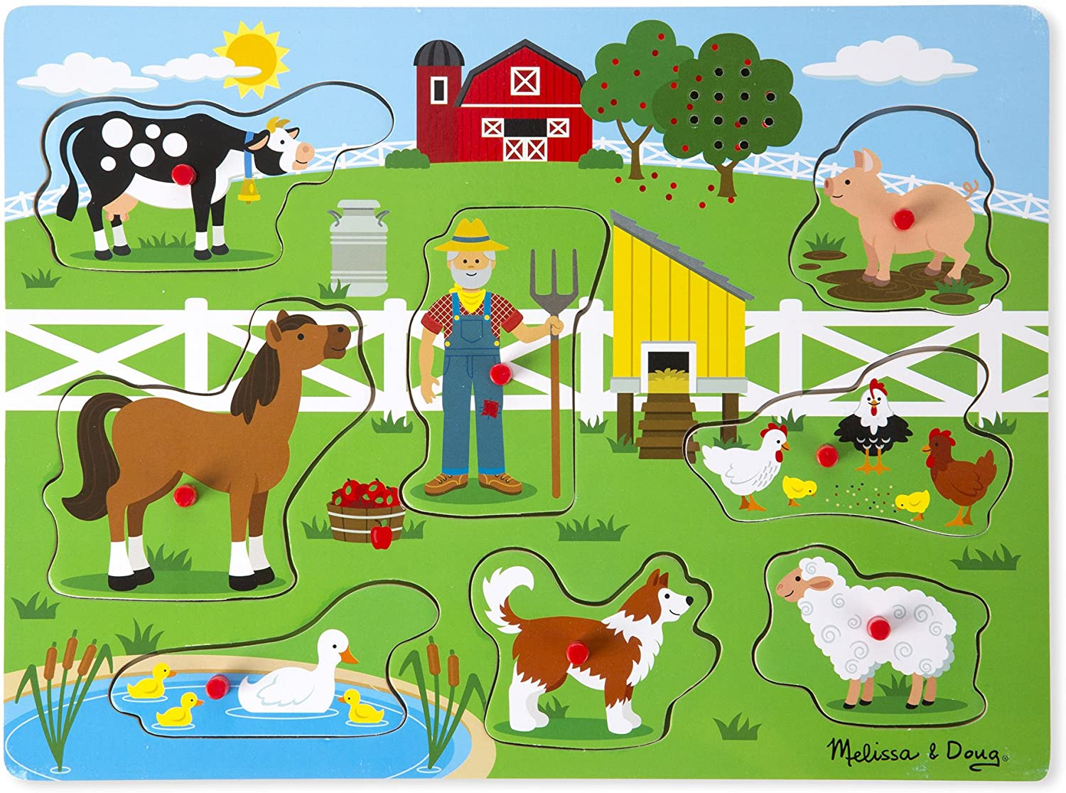 Old McDonald's Farm Puzzles Melissa & Doug