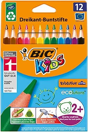 Colourful Pencils Bic