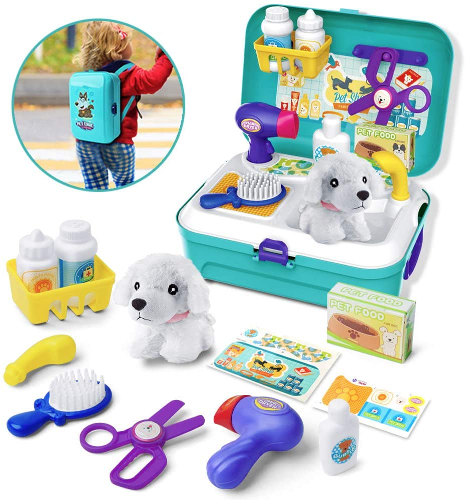 Pretend Dog Vet Kit GizmoVine